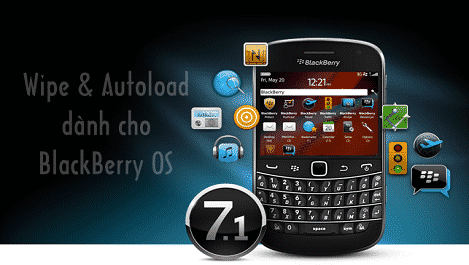 Combo Full Wipe and Autoload for BlackBerry OS